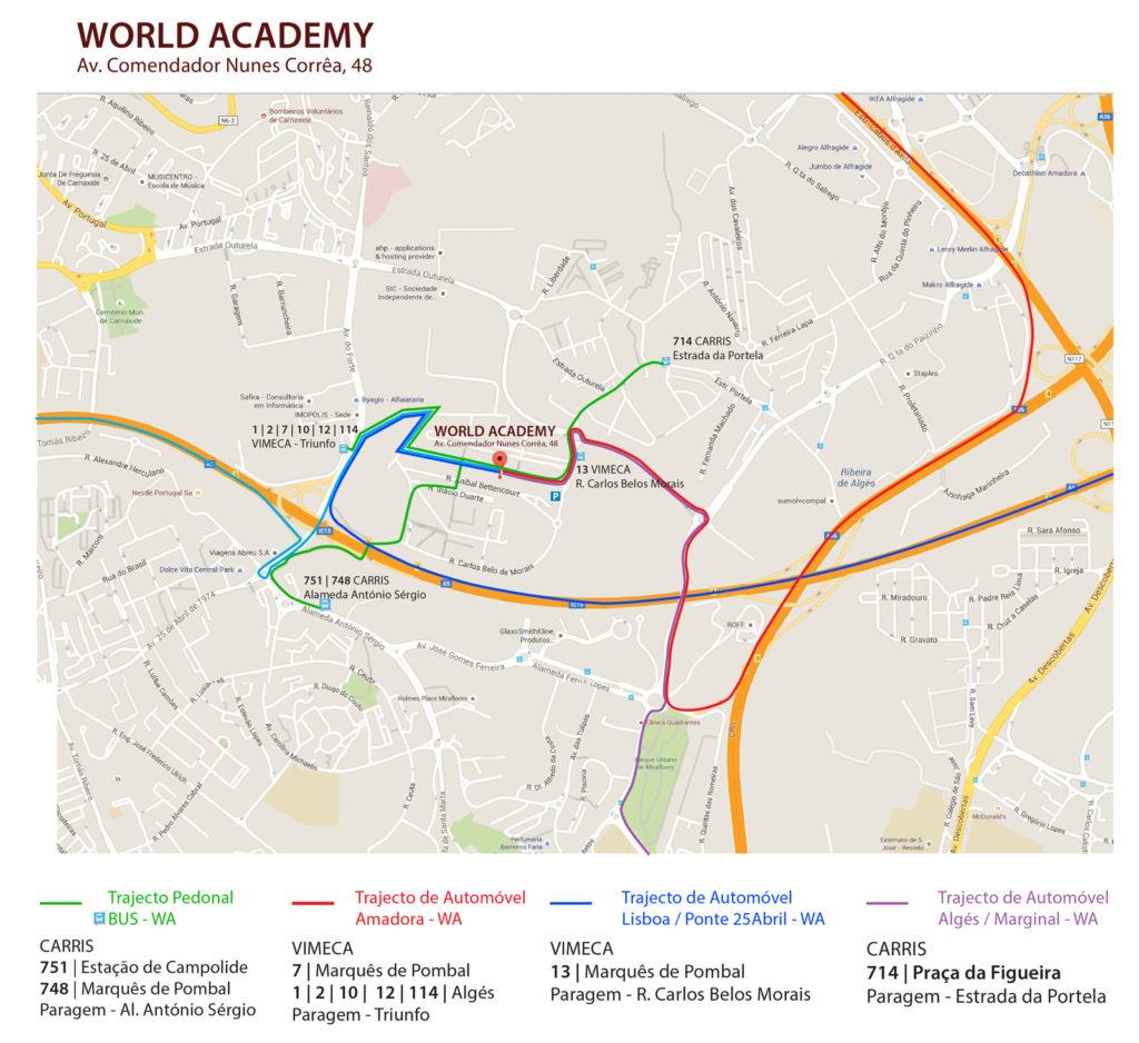 World Academy Localização