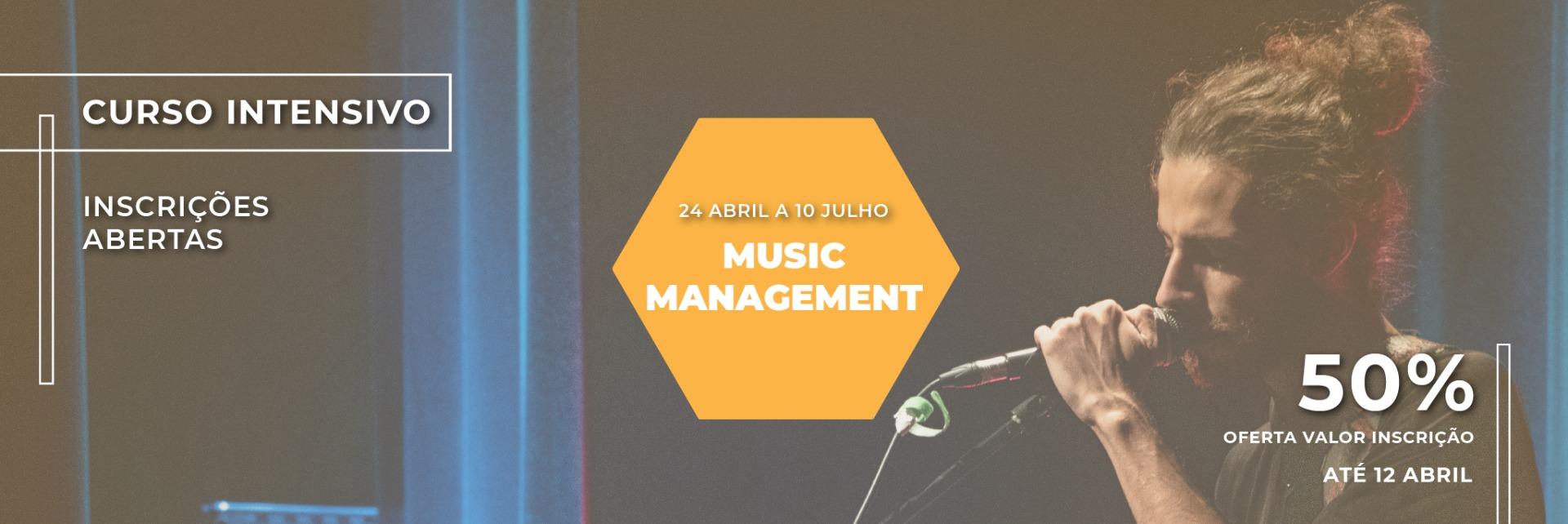 Curso Intensivo Music Management