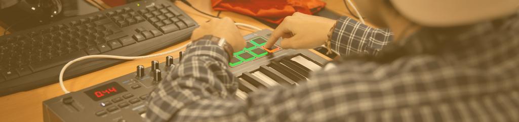criação e produção musical
