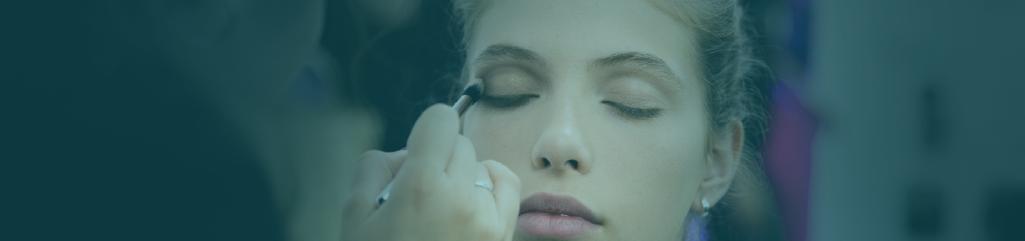 make-up, hairstyling e produção de moda